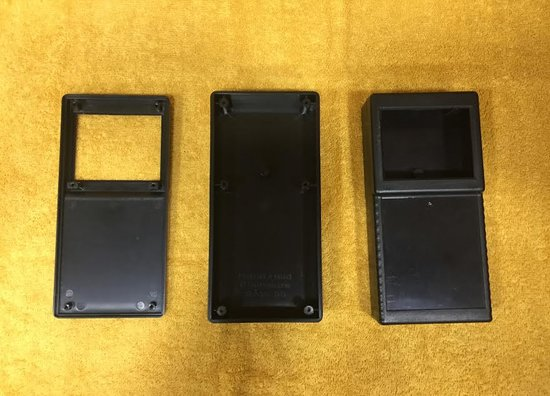 HANDHELD ENCLOSURE WITHOUT BATTERY COMPARTMENT